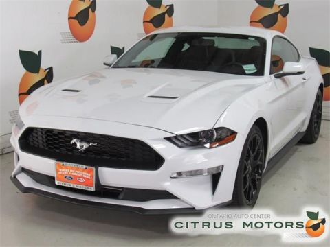 Certified Pre-Owned 2018 Ford Mustang EcoBoost Premium